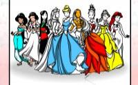 Disney Princess Coloring Game - Roundgames.com
