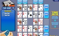 Shift Poker Solitaire