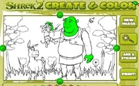 Shrek Create Color